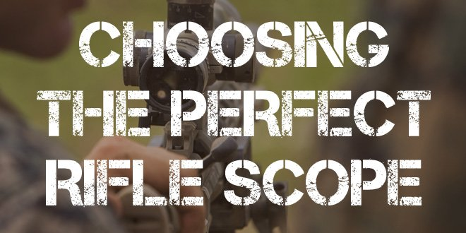 Choosing the Perfect Rifle Scope