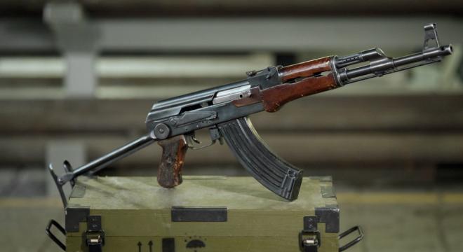 Kalashnikov shows off early AK-47 prototype with unique features (PHOTOS)