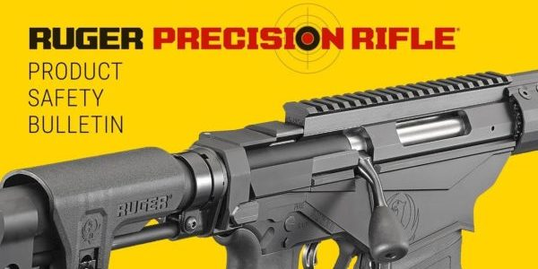 Ruger Issues Safety Bulletin for Precision Rifles